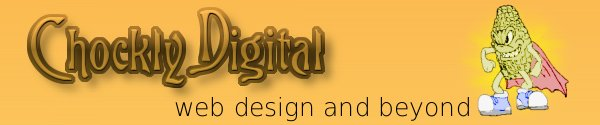 Chockly Digital. Web design and beyond